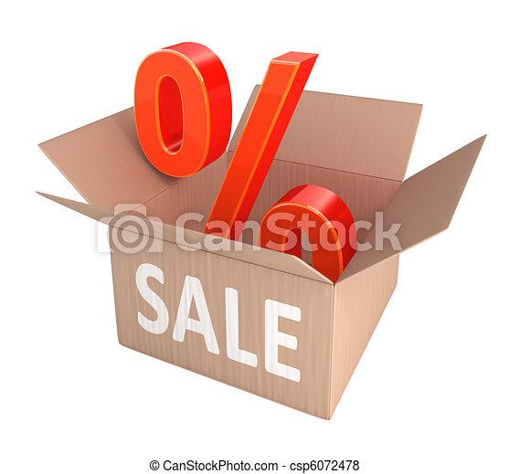 Sale Percent Discount - csp6072478
