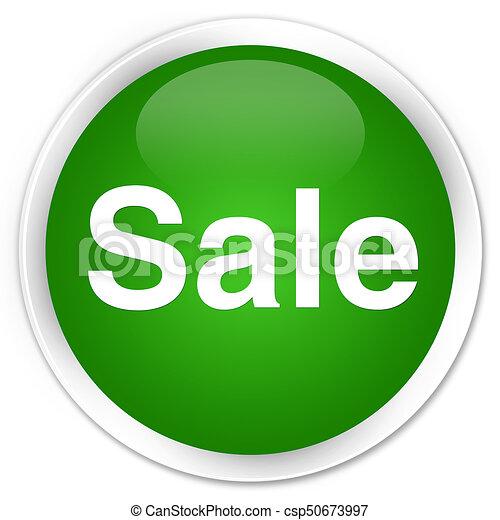 Sale premium green round button - csp50673997
