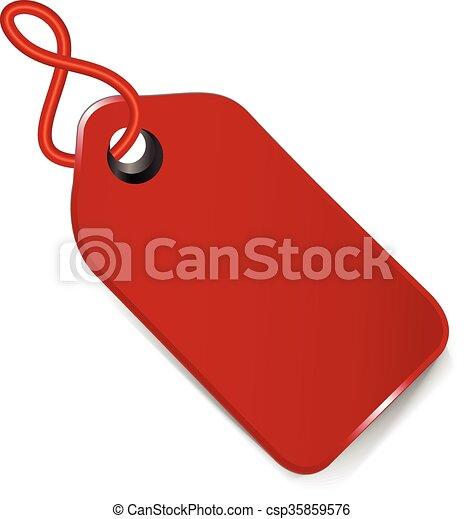 Sale price tag design - csp35859576