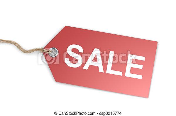 Sale Price Tag - csp8216774