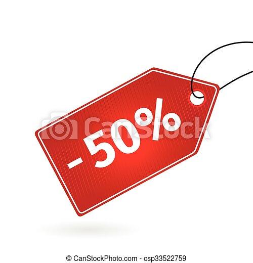 sale savings labels set - csp33522759