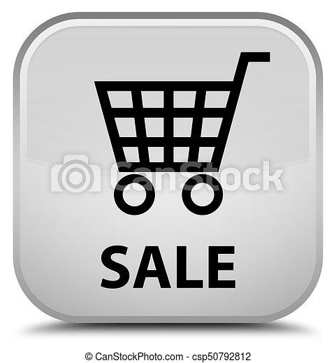 Sale special white square button - csp50792812