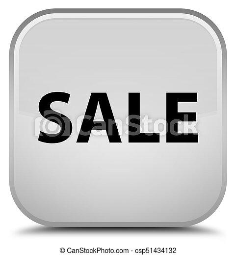 Sale special white square button - csp51434132