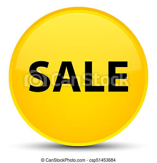 Sale special yellow round button - csp51453684