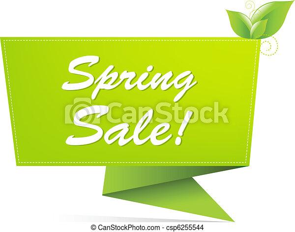 Sale Spring Banner - csp6255544