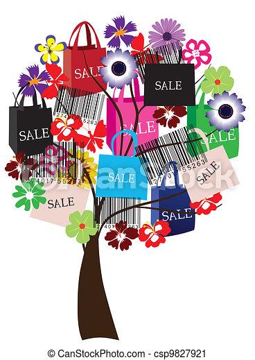 sale tree - csp9827921