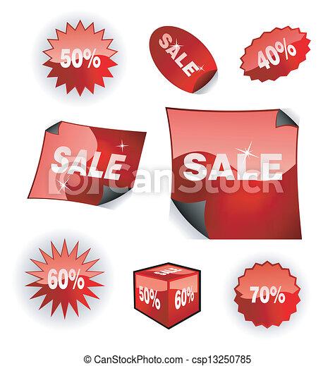 Sales Icon Set  - csp13250785