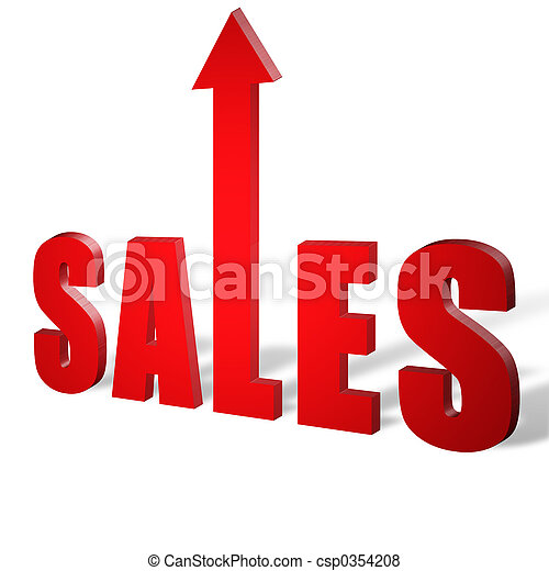 Sales Up - csp0354208