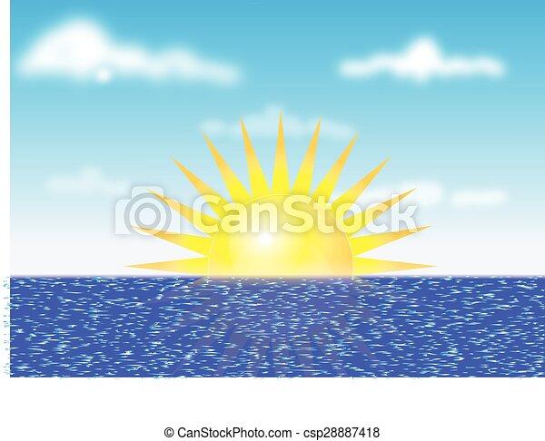 Sunrise - csp28887418