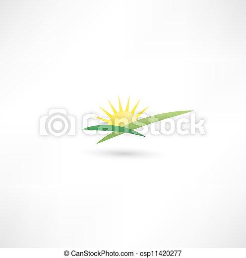 Un icono solar - csp11420277