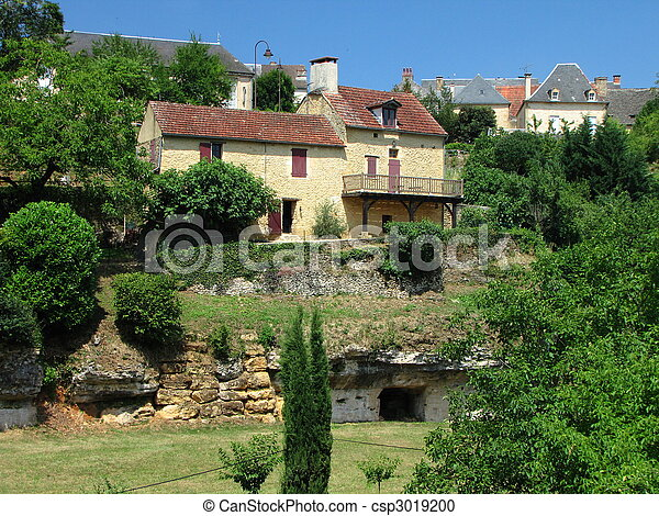 Salignac, Village - csp3019200