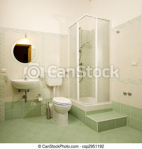 salle bains - csp2951192
