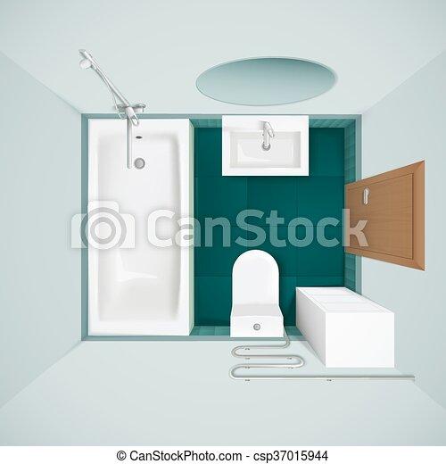 salle bains sommet r aliste int rieur image vue vecteur eps rechercher des clip art. Black Bedroom Furniture Sets. Home Design Ideas
