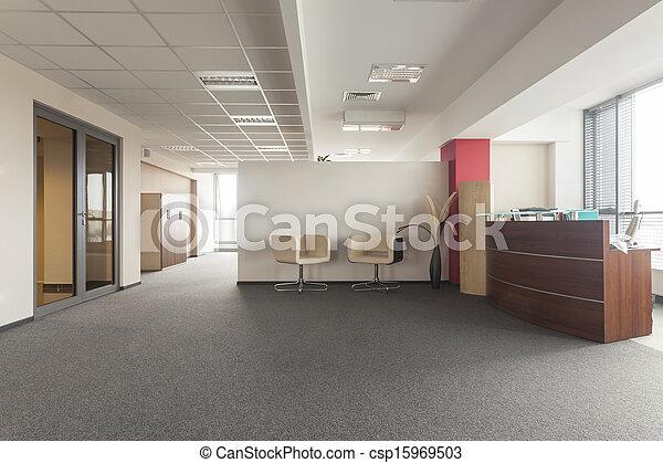 salle, bureau - csp15969503