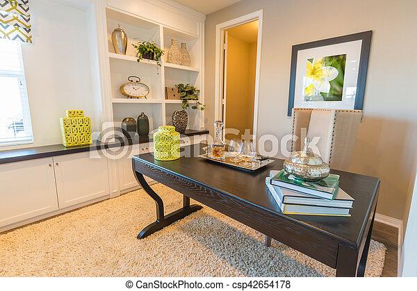Salle bureau puits intérieur maison nommé salle bureau