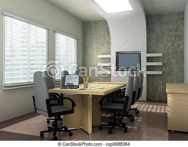 salle conférence - csp0688364