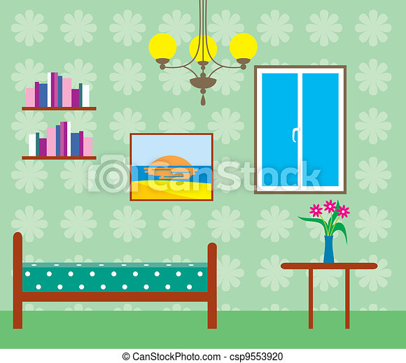 salle de séjour - csp9553920