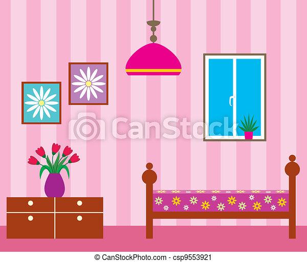 salle de séjour - csp9553921