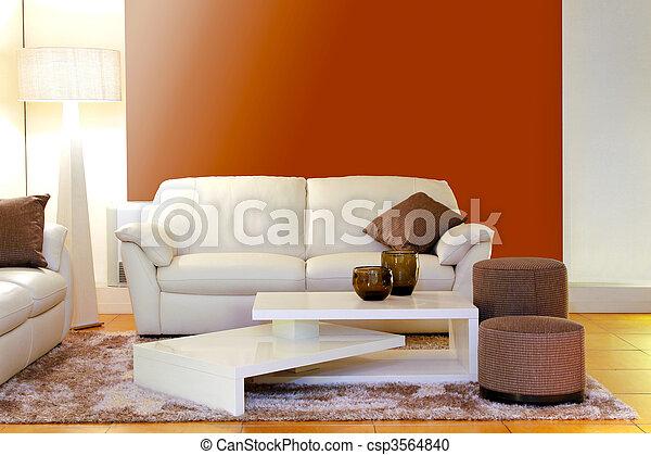 salle de séjour, détail - csp3564840