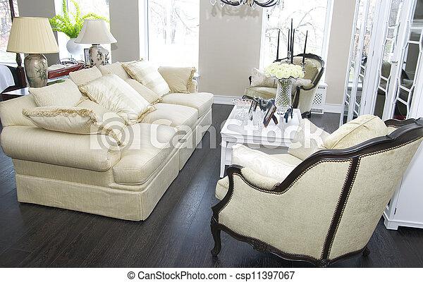 salle de séjour - csp11397067