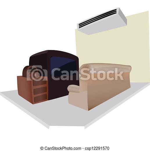 salle de séjour - csp12291570