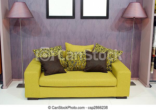 salle de séjour - csp2866238