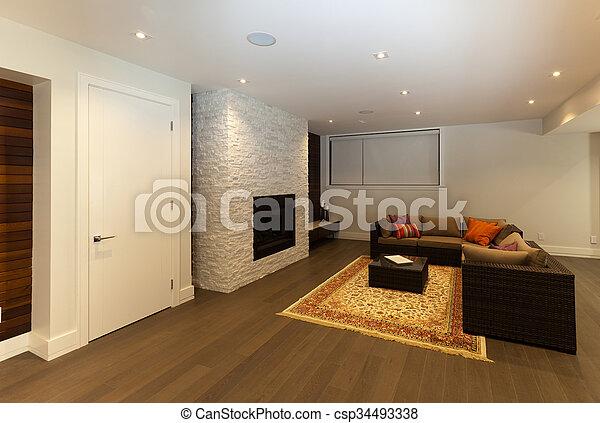 salle de séjour - csp34493338