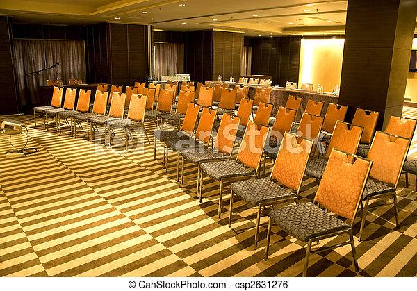salle, moderne, séminaire - csp2631276