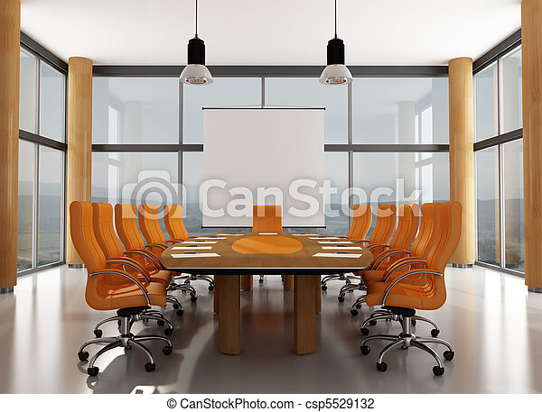 salle réunion - csp5529132