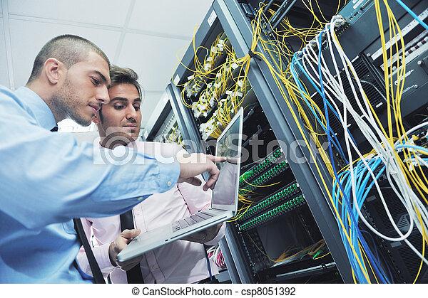 salle, serveur, enineers, réseau, il - csp8051392