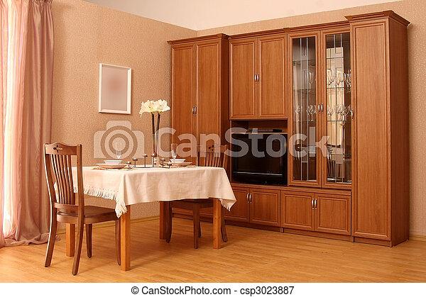 salle, vivant - csp3023887