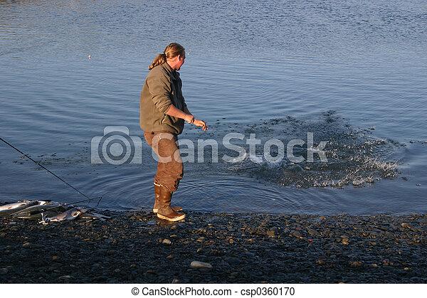 Salmon Fishing - csp0360170