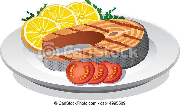 salmon sreak - csp14995509