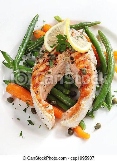 Salmon Steak - csp1995907