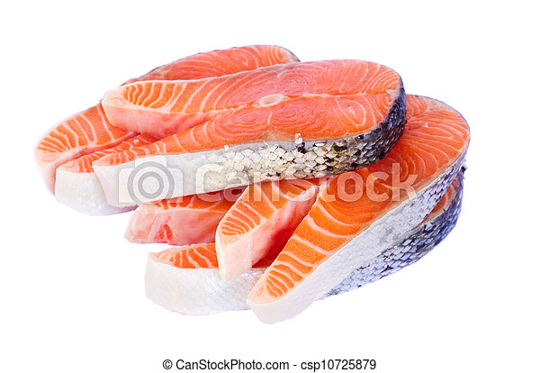 salmon steaks - csp10725879