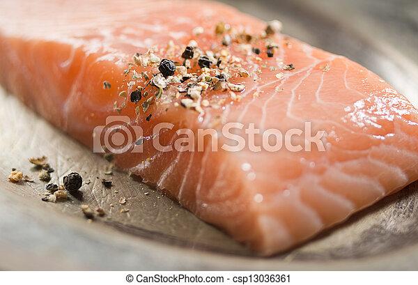 Salmon - csp13036361