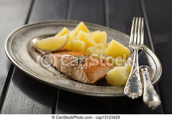 Salmon - csp13123429