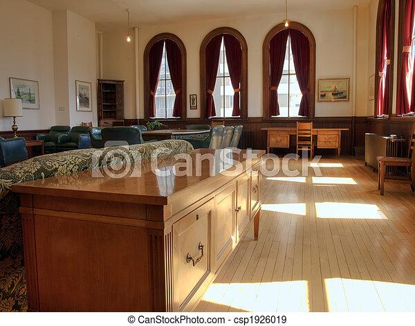 salon, historique, profs - csp1926019