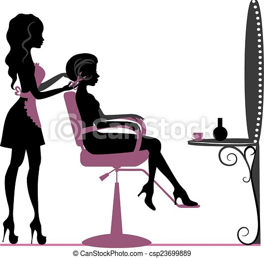 salon, skønhed - csp23699889