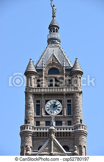 Salt Lake City and County Building - csp52780197