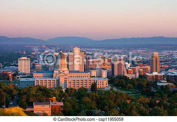 Salt Lake City - csp11955059