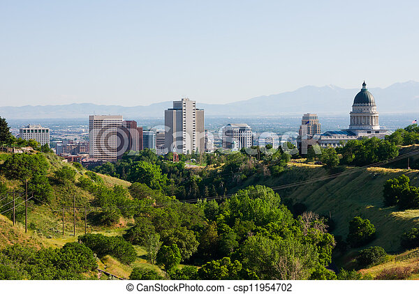 Salt Lake City, Utah  - csp11954702