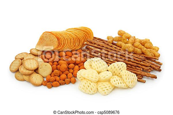saltaktig, snacks - csp5089676