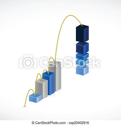 Diseño de ilustración de salto de trabajo - csp20402916