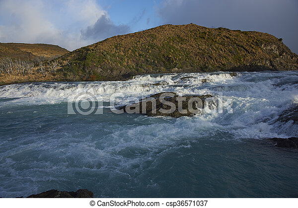Salto Grande in Torres del Paine - csp36571037