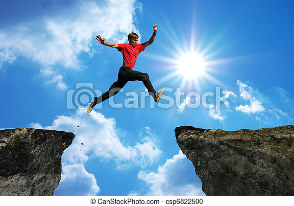 salto, homem - csp6822500
