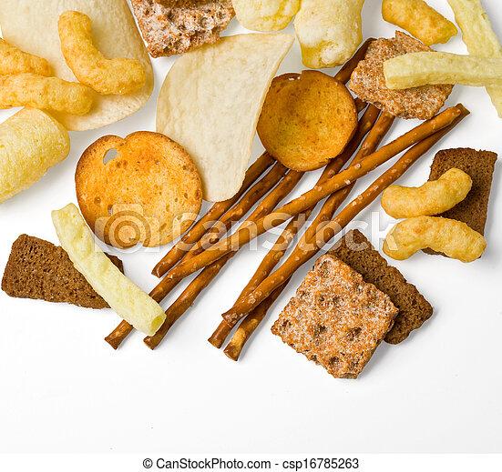 salty snack - csp16785263