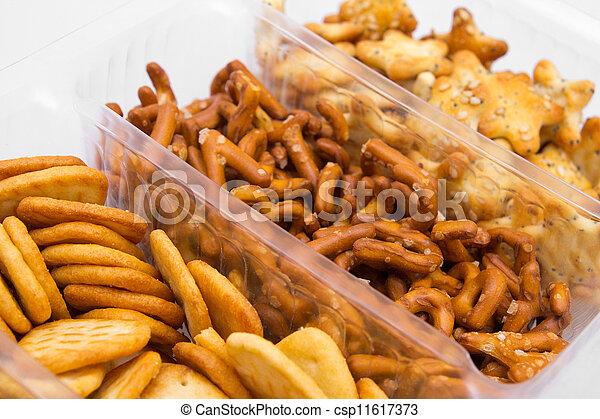 Salty snacks - csp11617373
