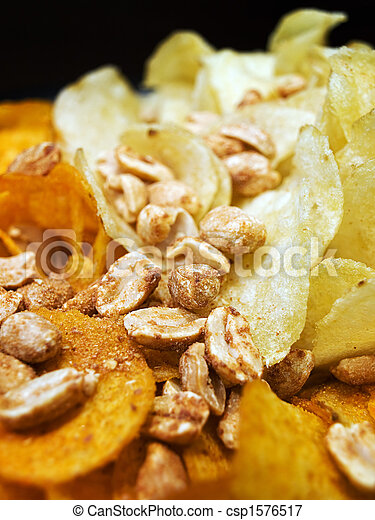Salty snacks - csp1576517