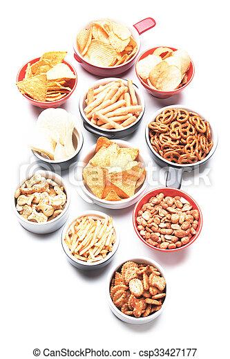 Salty snacks - csp33427177